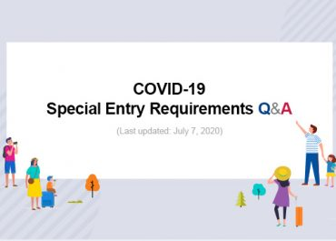 COVID-19 Special Entry Requirement Q&A