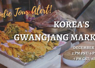 Foodie Tour Alert! Korea's Gwangjang Market